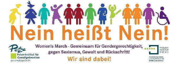 Nein heißt Nein! Women's March