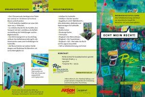 ECHT MEIN RECHT! - Flyer für Fachkräfte 12.07.2018