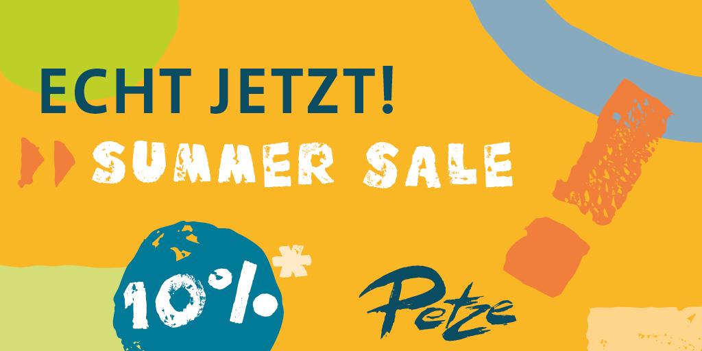ECHT JETZT! SUMMER SALE!